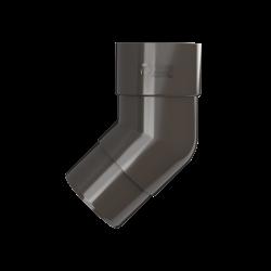 ТН ПВХ колено трубы, коричневый