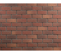 Фасадная плитка HAUBERK Терракотовый кирпич
