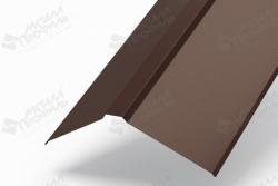 Комплектующие крыши купить Красноярск, Планка плоского конька купить, Планка для