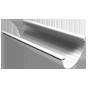 Желоб водосточный D=125 мм.  (длина 3 м.)